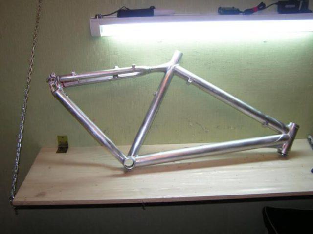 Грунт для алюминиевой велосипедной рамы