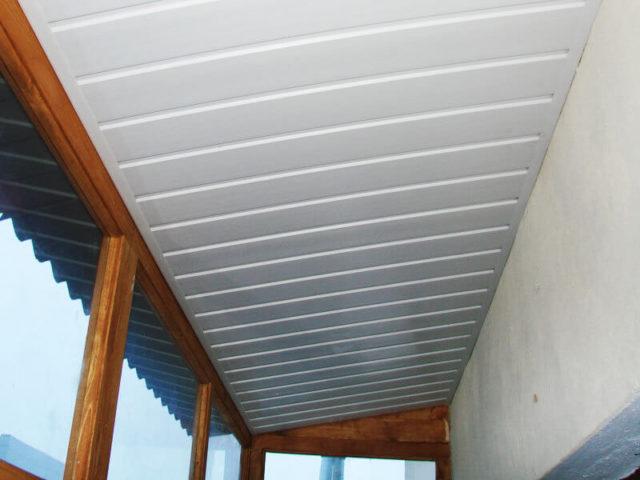 Потолок на балконах и лоджиях своими руками