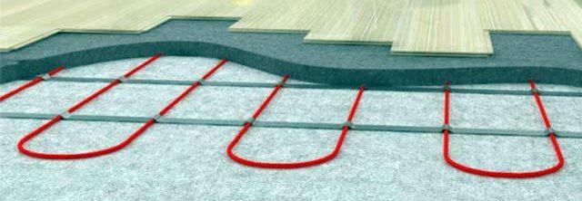 Кабельный теплый пол можно укладывать практически под любое напольное покрытие