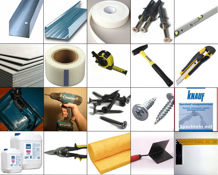 Необходимо подготовить стандартный набор инструментов и еще несколько специализированных приспособлений для упрощения работы