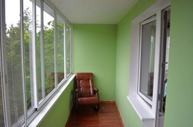 Отделка балкона гипсокартоном — несложно и доступно