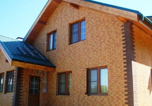 Фасадные панели из клинкерной плитки
