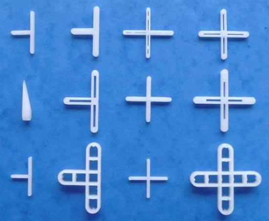 Использовать крестики для плитки