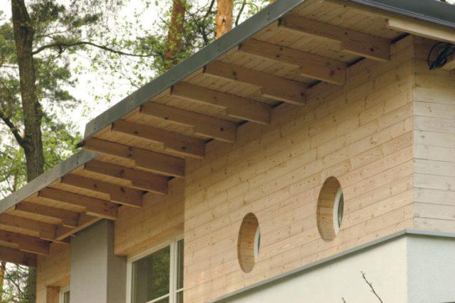 Карнизный свес крыши