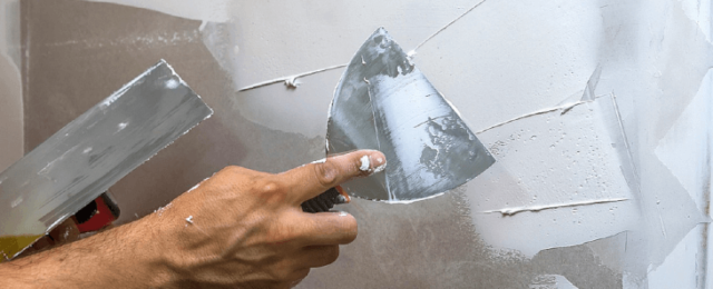 Расход шпаклевки на 1м2 стены