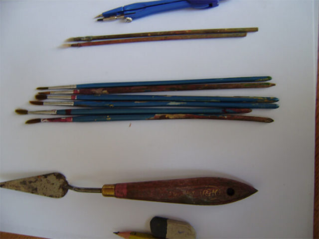 Кисточки для росписи по стеклу