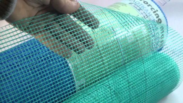 Сетка штукатурная фасадная 1000мм 55 50мп 145грм