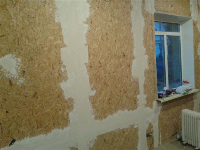 Отделка стен шпатлевкой