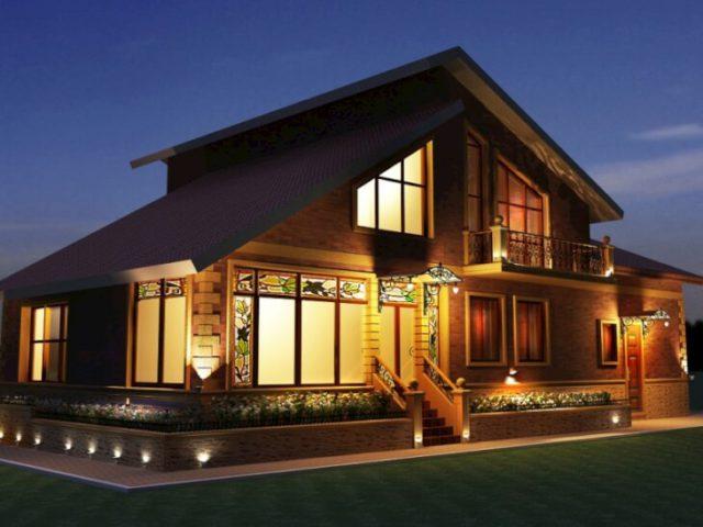 Фасадные светильники для частного дома